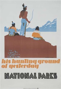 his hunting ground of yesterday - national parks by dorothy waugh