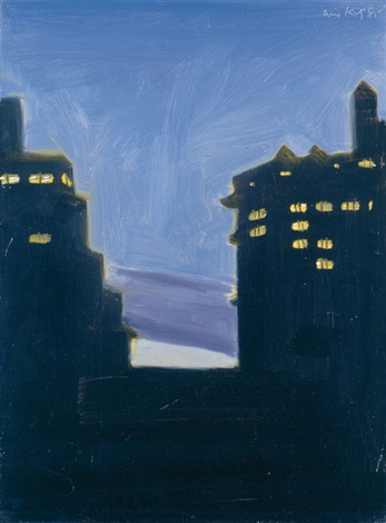 twilight by alex katz