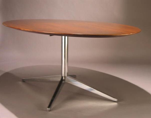 Pedestal Table By Florence Knoll On Artnet - Knoll pedestal table
