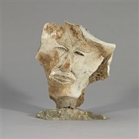 shaman mask by manasie akpaliapik