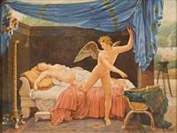 venere e cupido by luigi crosio