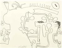 untitled (d5) by carroll dunham