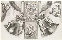 galeriae farnesianæ icones romae in aedibus sereniss by annibale carracci