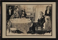 after dinner by charles dana gibson