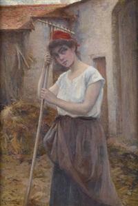 la jeune fermière by michel korochansky