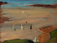 au bord de la mer by clarence montfort gihon