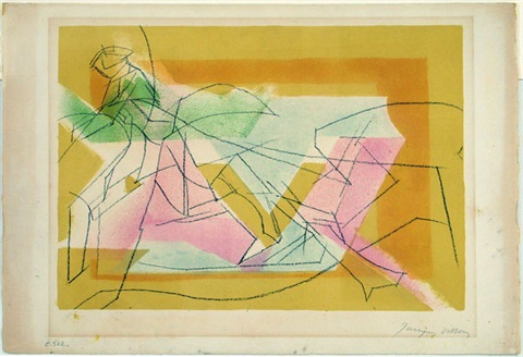 lécuyére by jacques villon