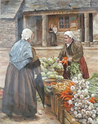 marché à gourin by chris valain