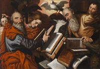 die vier evangelisten by pieter aertsen
