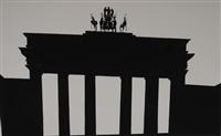untitled (brandenburg gate, berlin) by robert longo