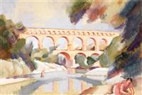 le pont du gard by andré lhote