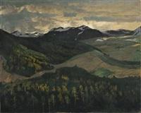 norwegisches hochgebirge by walter leistikow