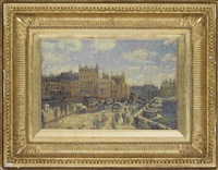 le pont neuf by lucien pissarro