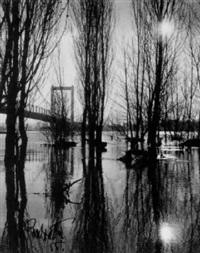 köln, hochwasser by pan walther
