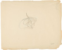 study for a construction by naum gabo