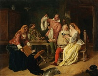 the merry wives of windsor by charles robert leslie