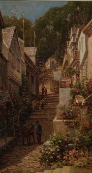clovelly by arthur white