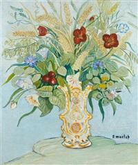 bouquet de fleurs by elisée maclet