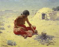 navajo cook by william robinson leigh