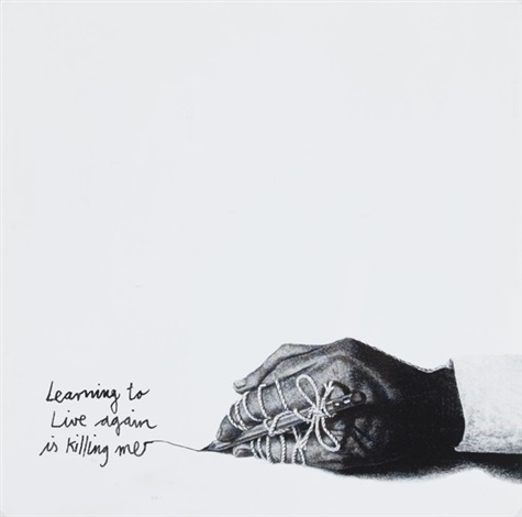 living to live again is killing me by friedrich kunath
