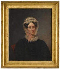 portrait of mrs. william king (ann nesbeth frazier) by chester harding