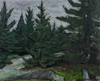pine trees by henry varnum poor