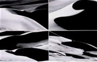 sand dunes, colorado (4 works) by ianthe ruthven