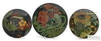 drei teller by rozenburg ceramics (co.)