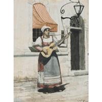 street singer by george agnew reid