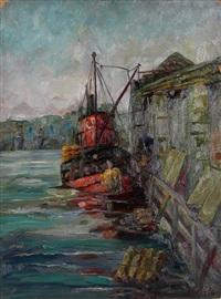 new rochelle pier by margaretha e. albers