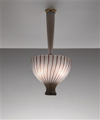 ceiling light by venini co.