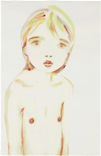 untitled (girl, shoulders hunched) by kim mccarty