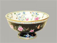 center bowl in canton pattern by f. winkle & co.