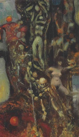 temptation of st anthony by max ernst