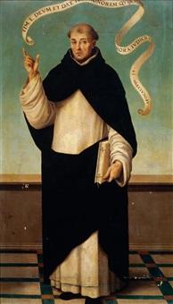 saint vincent ferrer by vicente juan (de juanes) masip