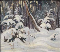 wand in winter by george douglas pepper