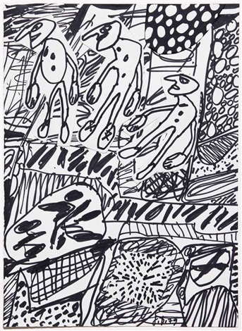 situation cii by jean dubuffet