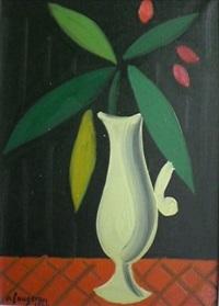 petit vase de fleurs by andré fougeron