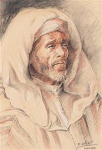 vieil arabe à meknes by edmond vales