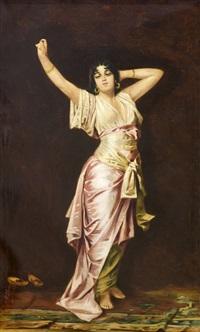 bailarina oriental by j.f. lloveras