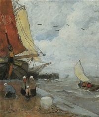 haventafereel in zeeland by henry stacquet