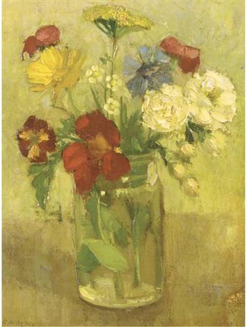 a summer bouquet by bernardus cornelis noltee