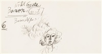 portrait de marie-laure de noailles by alberto giacometti