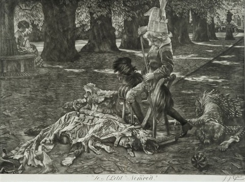 le petit nemrod by james jacques joseph tissot