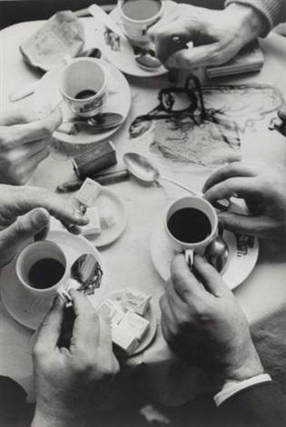 les mains de quatre amis by frank horvat