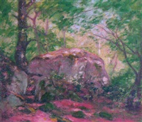 woodland interior by p. w. muncy