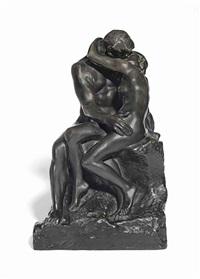 baiser, 4ème réduction ou petit modèle by auguste rodin