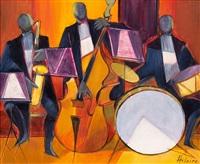 l'orchestre de jazz by camille hilaire