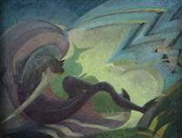 abstract unitled by ray howard-jones