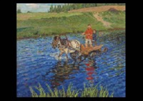 crossing the river by nikolai petrovich bogdanov belsky